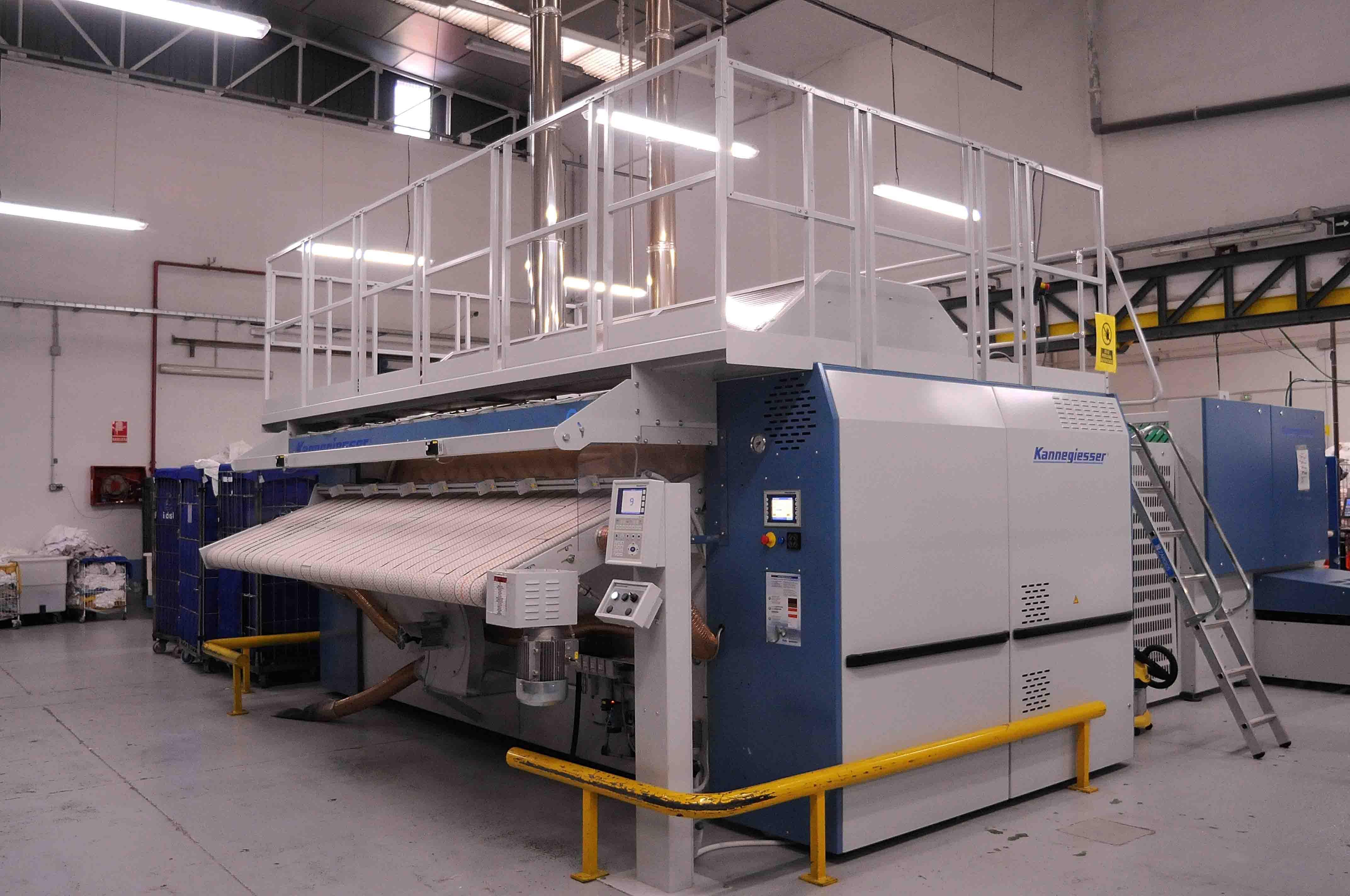Lavandería Industrial Aurora